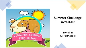 New: Summer Activities for Girls of all ages