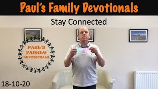 Paul's Family Devotionals 18th October