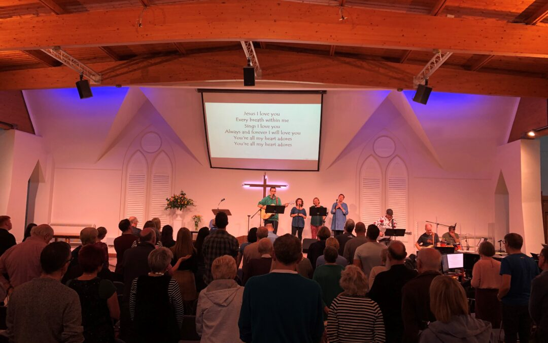 Sunday Services Update – A Message From Donald