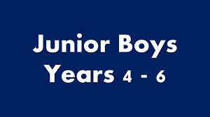 New: Activities for Boys in Years 4 – 6